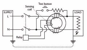 rcd circuit diagram