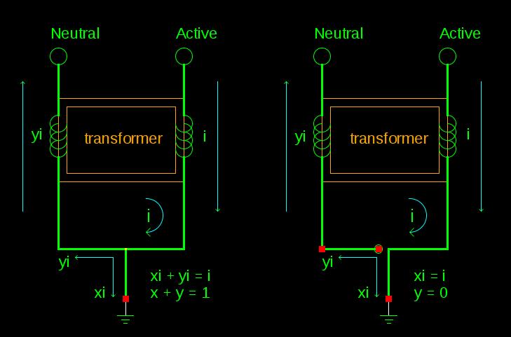 RCD Ground Leakage Circuit Diagram